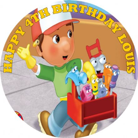 Handy Manny Edible Cake Topper